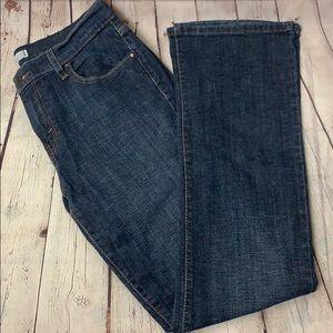 Levi's Bootcut 515 Jeans dark blue wash